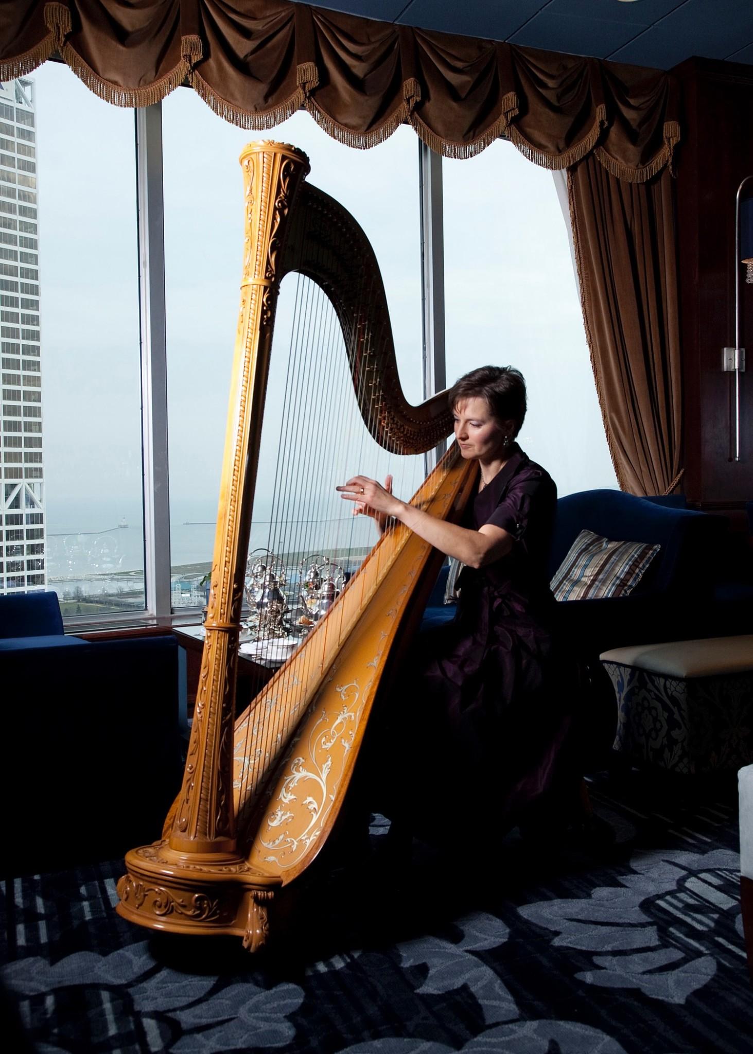 Harpist, Mary - ACA Entertainment : ACA Entertainment